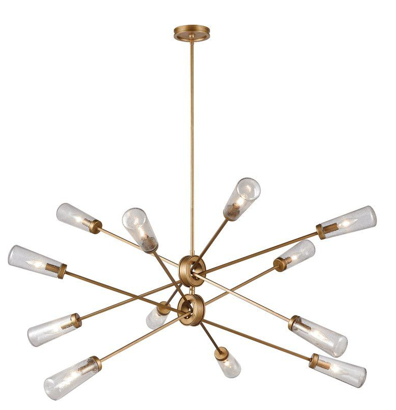 Most Recently Released Eladia 6 Light Sputnik Chandeliers Throughout Molecular Suspension Light  (View 21 of 30)