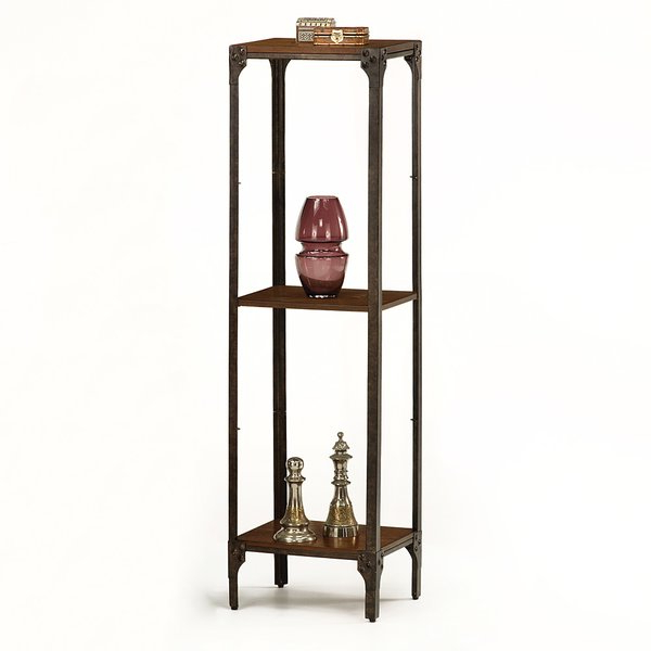 Most Recently Released Engelhardt Accent Tower Etagere Bookcase17 Stories #1 Intended For Maryln Standard Bookcases (Gallery 19 of 20)