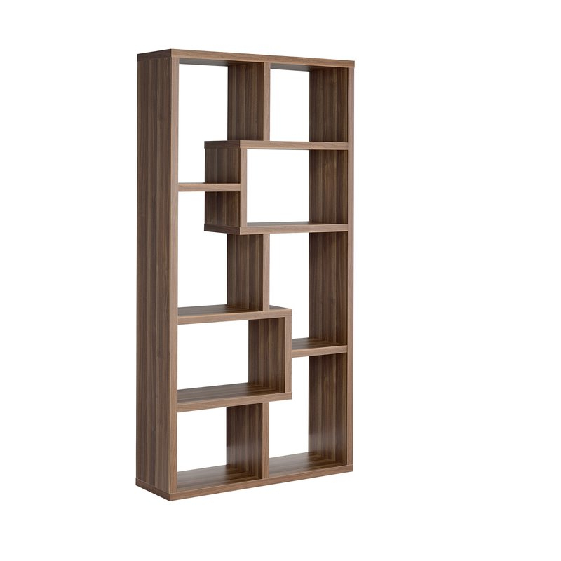 Most Recently Released Flavius Geometric Bookcase Inside Chantilly Geometric Bookcases (Gallery 11 of 20)