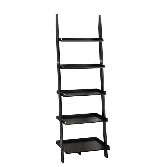 Most Recently Released Gilliard Ladder Bookcase Regarding Gilliard Ladder Bookcases (Gallery 15 of 20)