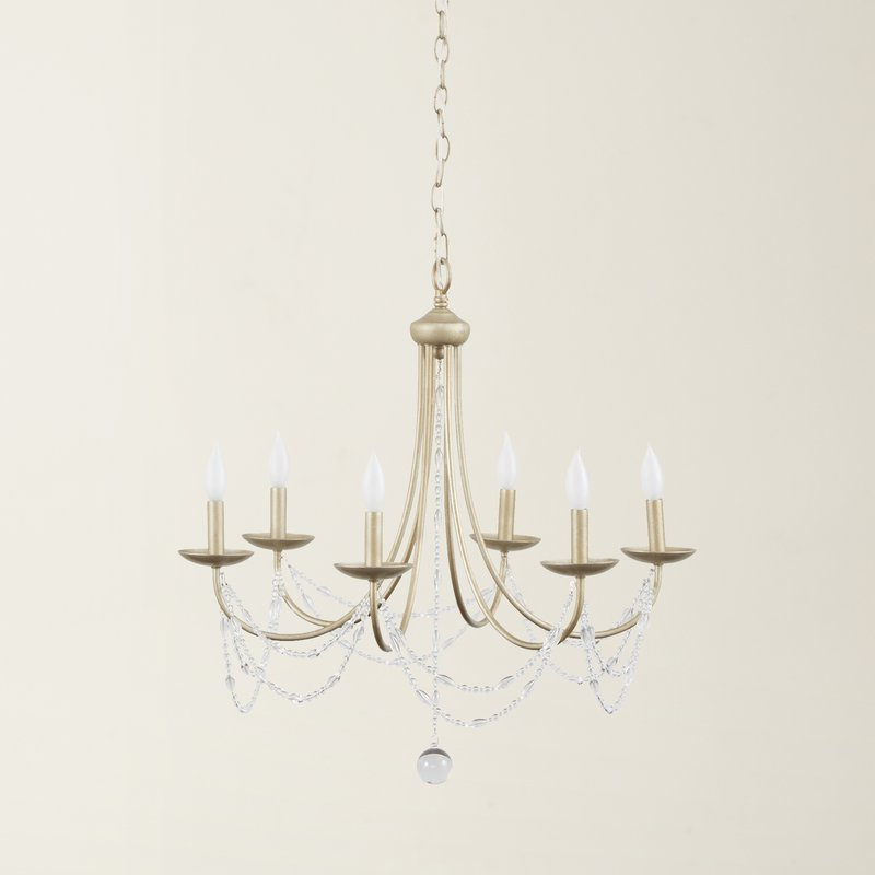 Most Recently Released Hamza 6 Light Candle Style Chandeliers Regarding Nantucket 6 Light Candle Style Chandelier (Gallery 11 of 30)