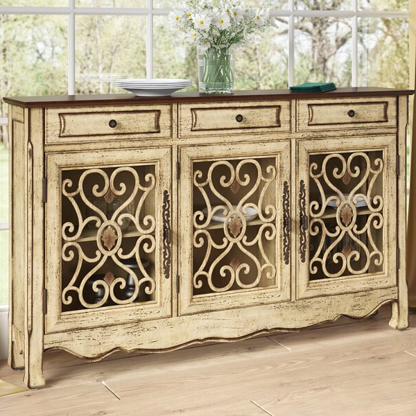 Most Recently Released Ilyan Traditional Wood Sideboards Throughout Mauzy Sideboard (View 10 of 20)