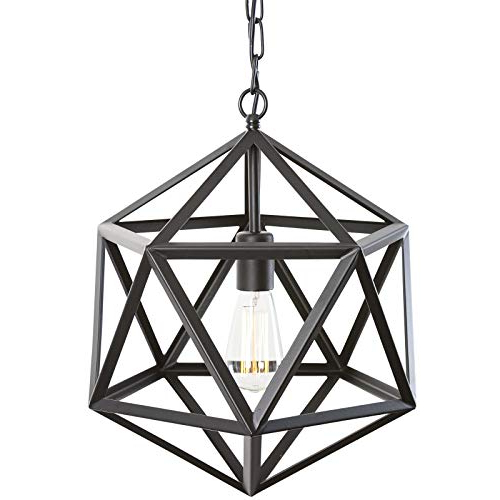 Most Recently Released Kaycee 4 Light Geometric Chandeliers With Geometric Chandelier: Amazon (Gallery 16 of 30)