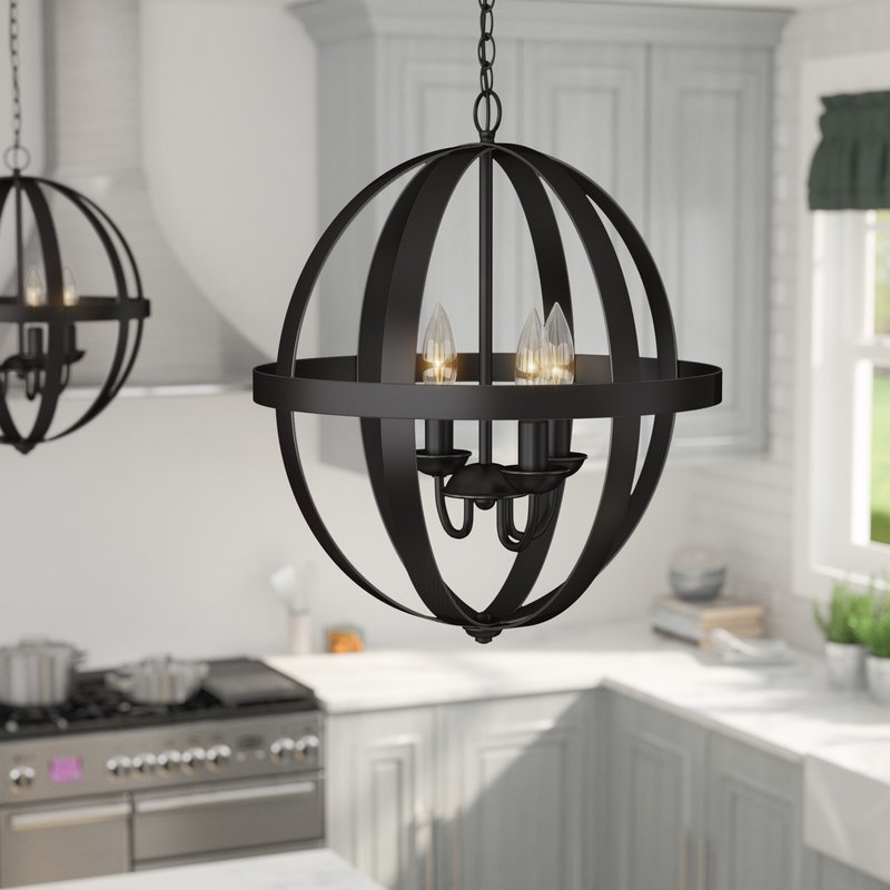 Most Recently Released La Barge 3 Light Globe Chandelier For La Barge 3 Light Globe Chandeliers (Gallery 1 of 30)