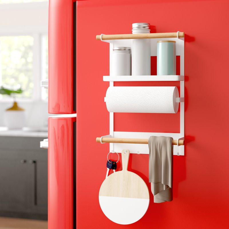 Most Recently Released Magnetic Kitchen Organization Rack With Waverley Etagere Bookcases (View 12 of 20)