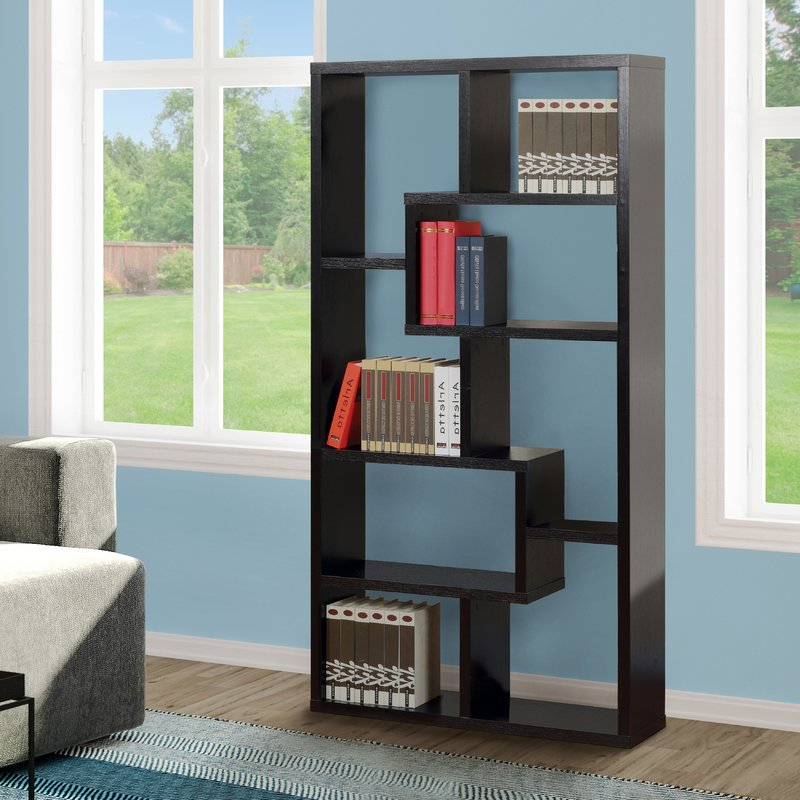 Most Recently Released Mercury Row Chrysanthos Etagere Bookcase Throughout Chrysanthos Etagere Bookcases (View 13 of 20)
