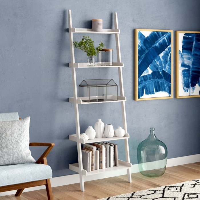 Most Recently Released Nailsworth Ladder Bookcase For Nailsworth Ladder Bookcases (Gallery 9 of 20)