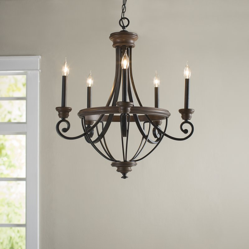 Most Recently Released Nanteuil 5 Light Empire Chandelier With Kenna 5 Light Empire Chandeliers (View 25 of 30)