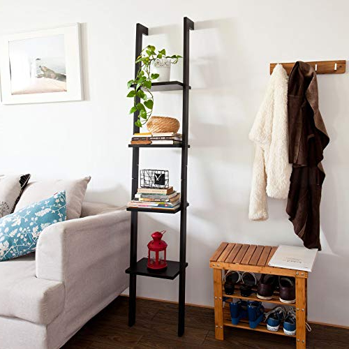 Most Recently Released Narrow Ladder Bookcases For Narrow Ladder Shelf: Amazon (View 4 of 20)