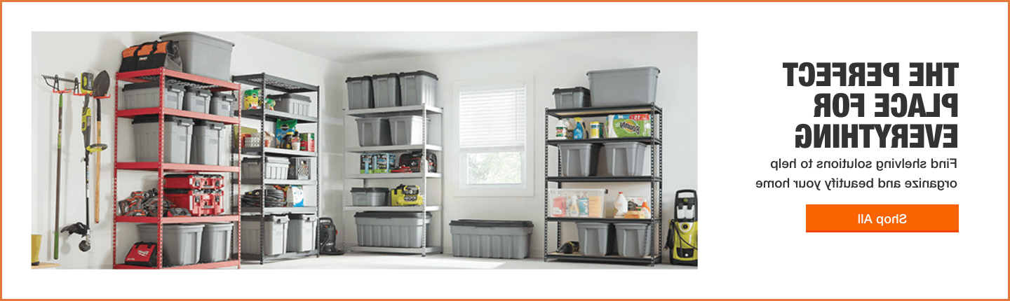 Most Recently Released Narrow Profile Standard Cube Bookcases Throughout Shelving & Accessories – The Home Depot (Gallery 3 of 20)