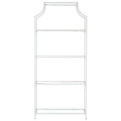 Most Recently Released Rech 4 Tier Etagere Bookcases Regarding Timblin 4 Tier Etagere Bookcase (View 9 of 20)
