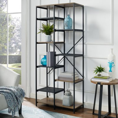 "Most Recently Released Williston Forge Bowman 68"" Multi Level Etagere Bookcase Regarding Bowman Etagere Bookcases (View 17 of 20)"