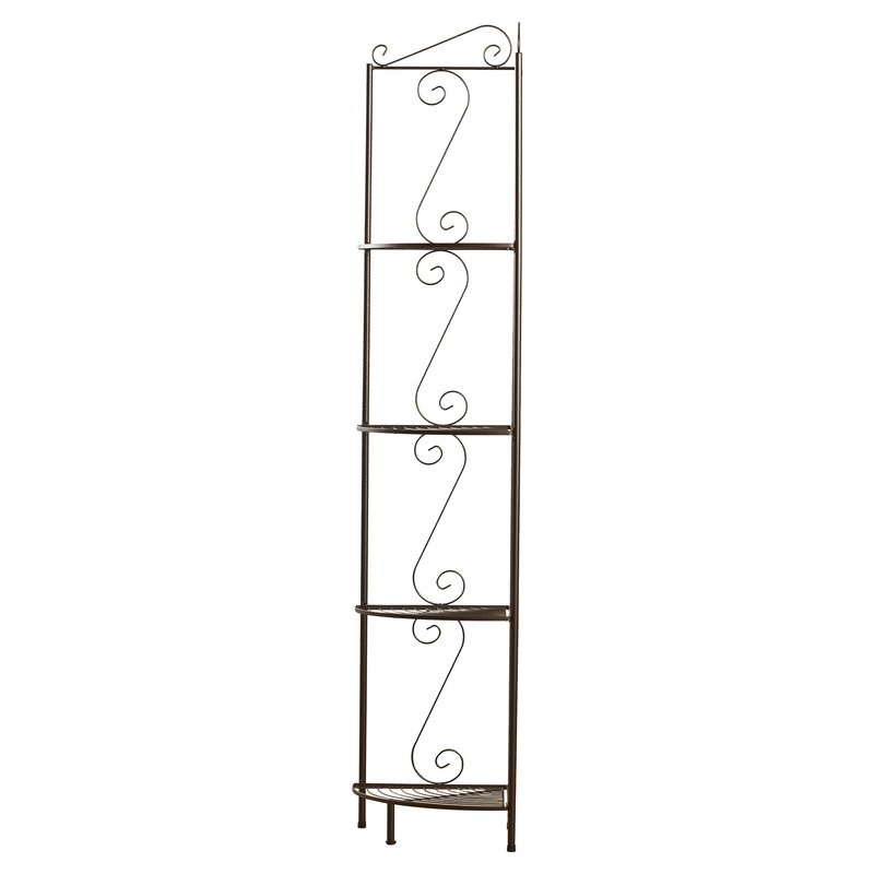 Most Recently Released Yeatman Four Tier Corner Unit Bookcase Intended For Yeatman Four Tier Corner Unit Bookcases (View 5 of 20)