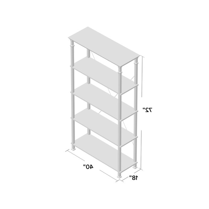 Most Recently Released Zona Etagere Bookcase With Regard To Zona Etagere Bookcases (View 7 of 20)