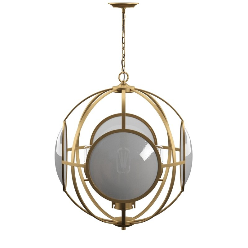 Most Up To Date Alex Cove 4 Light Chandelier Throughout Finnick 4 Light Foyer Pendants (View 23 of 30)