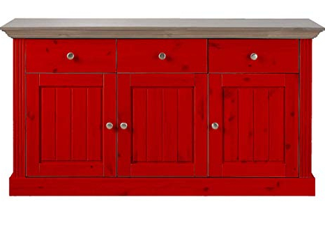 Most Up To Date Aprodz Solid Wood Alegre Sideboard Storage Cabinet For Intended For Alegre Sideboards (View 15 of 20)