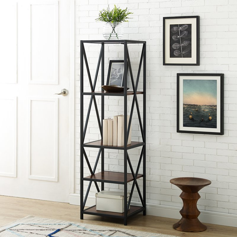 Most Up To Date Augustus Etagere Bookcase Inside Augustus Etagere Bookcases (Gallery 1 of 20)