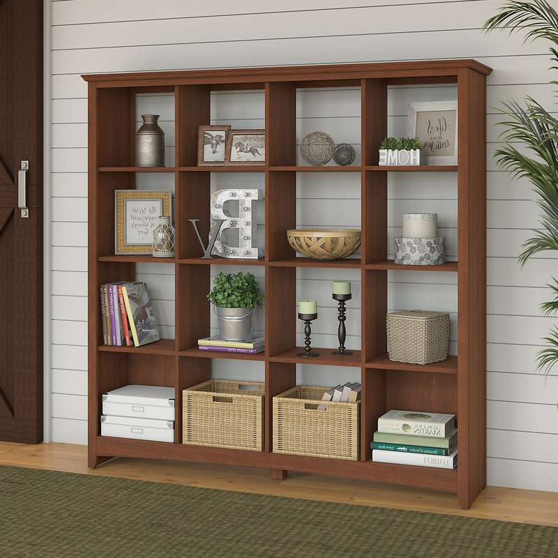 Most Up To Date Fralick Cube Bookcase Regarding Lancashire Cube Bookcases (View 11 of 20)
