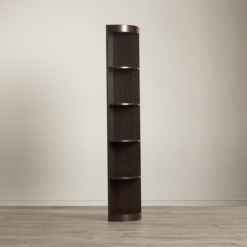 Most Up To Date Fuhrmann Corner Bookcase Inside Stoneford Corner Bookcases (Gallery 18 of 20)