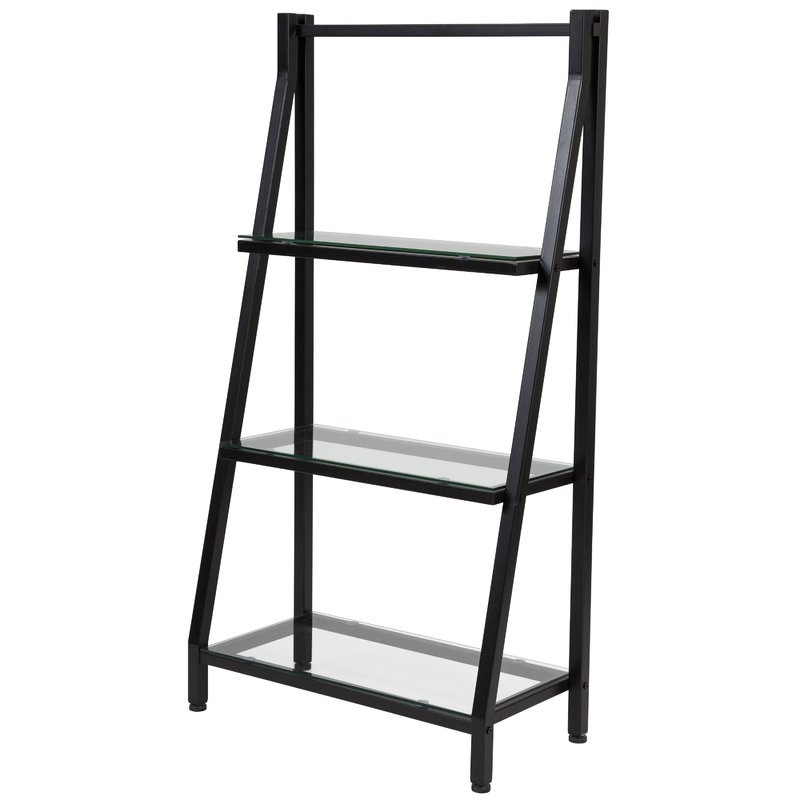 Most Up To Date Godwin Ladder Bookcase Intended For Riddleville Ladder Bookcases (View 8 of 20)