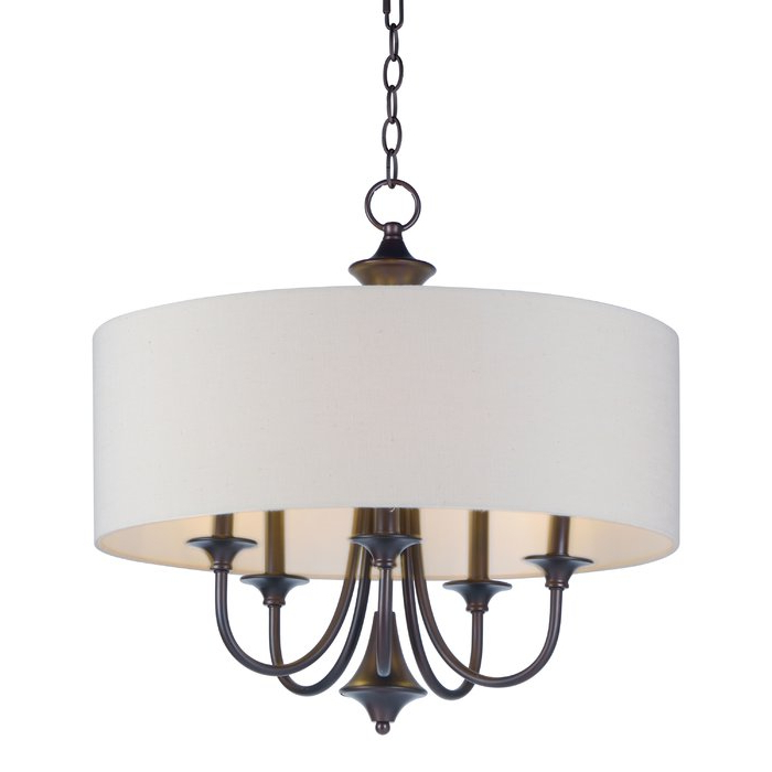 Most Up To Date Harlan 5 Light Drum Chandeliers Pertaining To Wadlington 5 Light Drum Chandelier (Gallery 9 of 30)