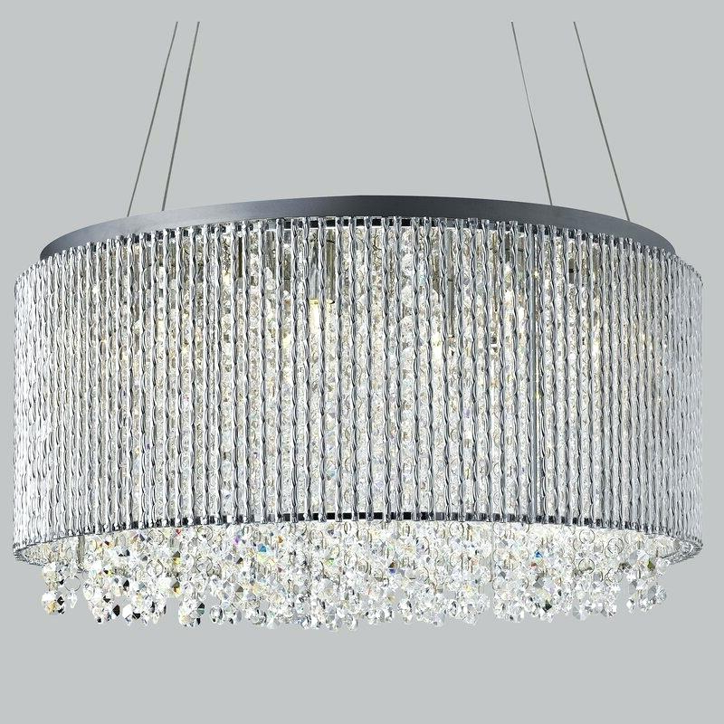 Most Up To Date Light Crystal Chandelier – Petprovide (View 17 of 30)
