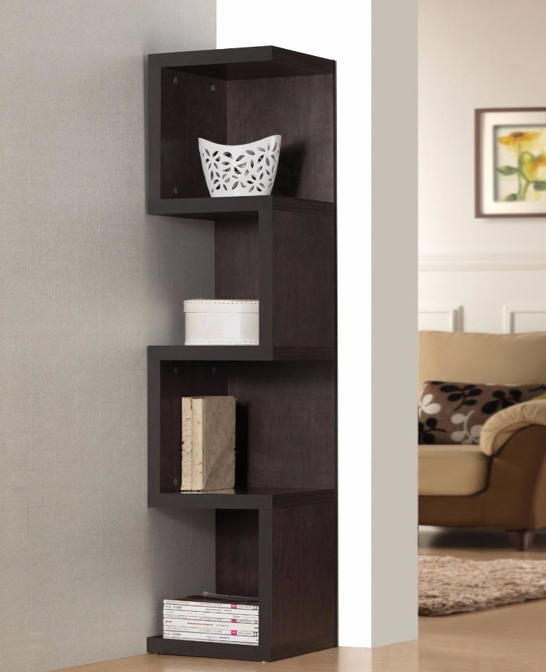 Most Up To Date Luebke Wooden Standard Bookcase Within Kiley Standard Bookcases (View 17 of 20)