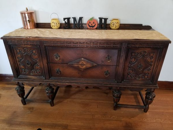 Most Up To Date New And Used Antique Table For Sale In Akron, Oh – Offerup Throughout Massillon Sideboards (View 18 of 20)