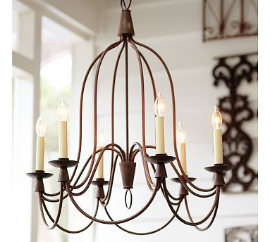 Most Up To Date Pottery Barn Armonk Chandelier $399 Identical Light At In Kenedy 9 Light Candle Style Chandeliers (View 18 of 30)