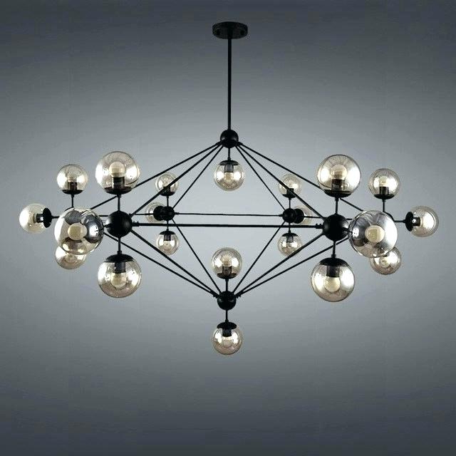 Most Up To Date Verlene Foyer 5 Light Globe Chandeliers Throughout Black Globe Chandelier – Cecilleseibel (View 22 of 30)