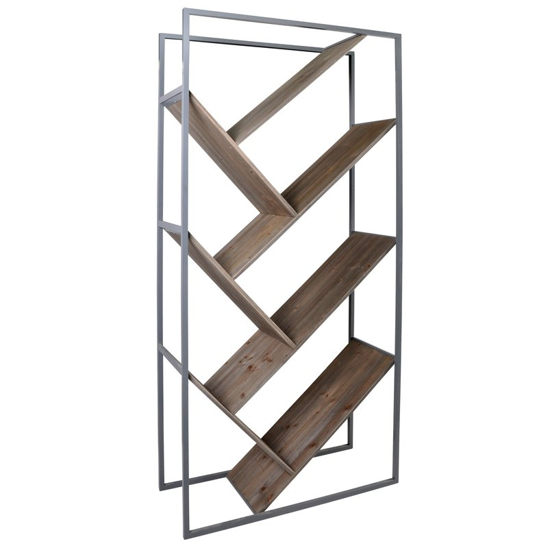Most Up To Date Woodcrest Etagere Bookcases Within Cassandra Etagere Bookcase (View 8 of 20)
