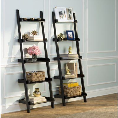 Nailsworth Ladder Bookcases Pertaining To Newest Three Posts Nailsworth Ladder Bookcase In 2019 (Gallery 1 of 20)