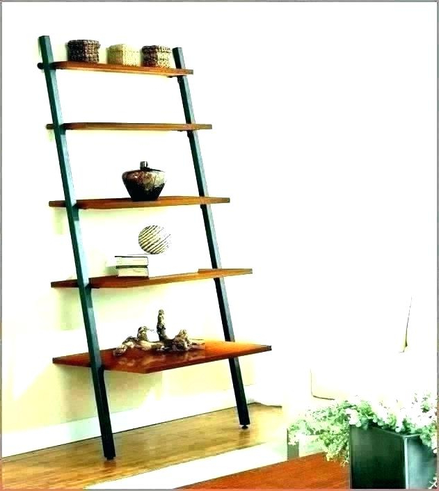 Narrow Ladder Bookshelf – Loudkidz (View 14 of 20)