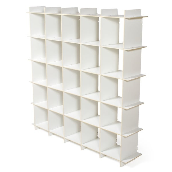 Narrow Profile Standard Cube Bookcases With Regard To Most Recent Shop Modern Cube Bookcase – Free Shipping Today – Overstock (View 20 of 20)
