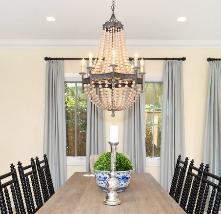 Nautical With Regard To Most Up To Date Duron 5 Light Empire Chandeliers (View 25 of 30)