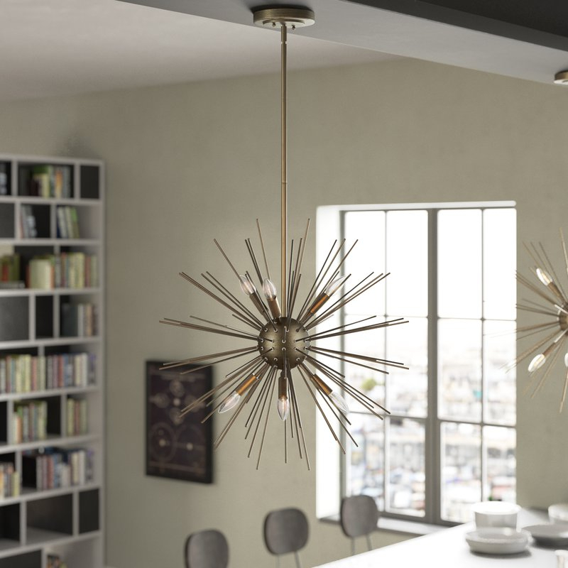 Nelly 12 Light Sputnik Chandeliers In Most Recently Released Save It For Later. Buy When Ready (View 16 of 30)