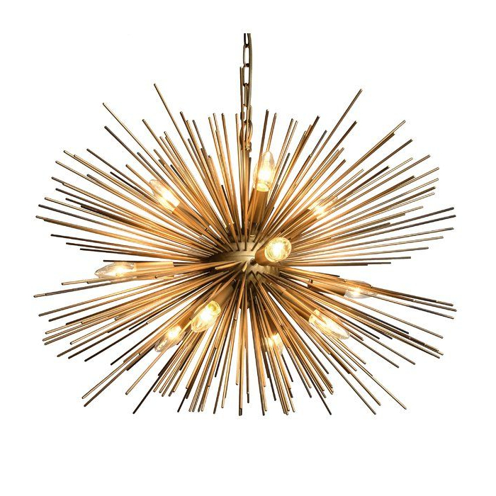 Nelly 12 Light Sputnik Chandeliers Intended For Best And Newest Pin On Lightning (View 17 of 30)