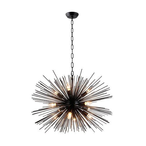 Nelly 12 Light Sputnik Chandeliers Within Widely Used Pin On Architecture Photoshop (View 24 of 30)
