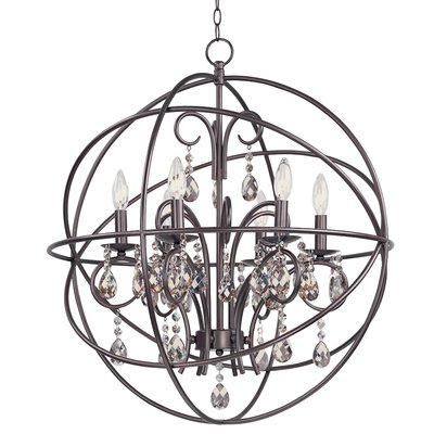 Newest Alden 6 Light Globe Chandelier Regarding Alden 6 Light Globe Chandeliers (View 4 of 30)