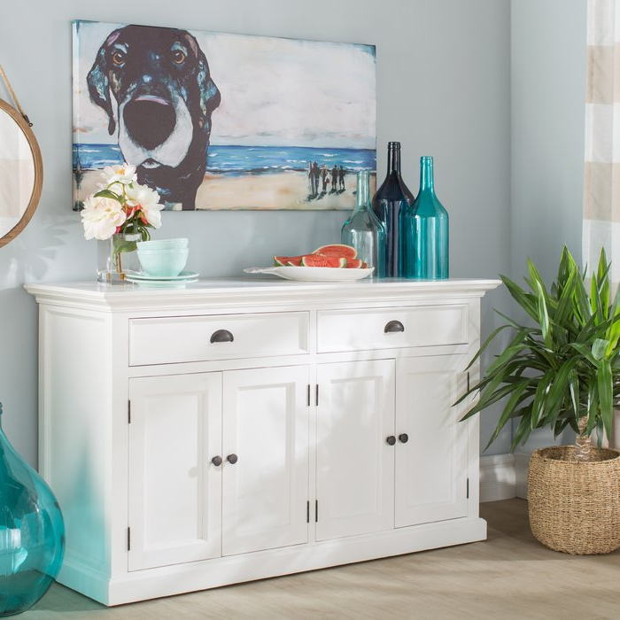 Newest Amityville Wood Sideboard In Amityville Sideboards (Gallery 8 of 20)