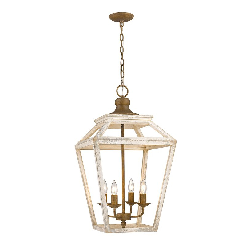 Newest Baugher 4 Light Lantern Geometric Pendant With Varnum 4 Light Lantern Pendants (View 9 of 30)