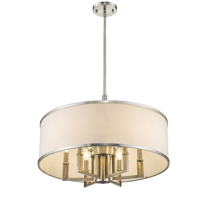 Newest Breithaup 4 Light Drum Chandeliers Regarding Breithaup 7 Light Drum Chandelier (View 3 of 30)