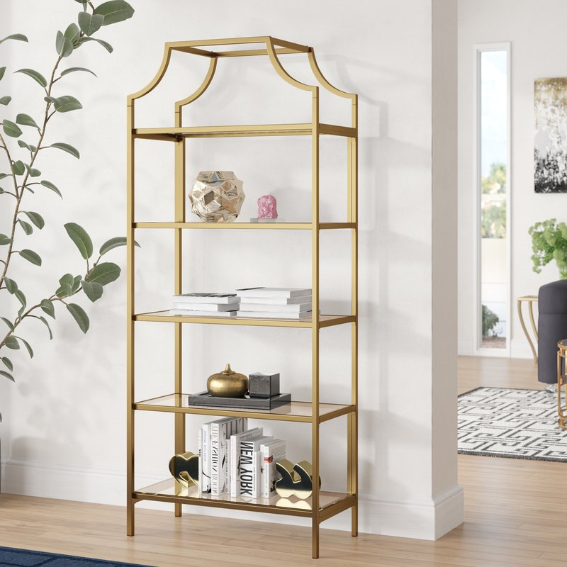 Newest Caldwell Etagere Bookcases With Regard To Damon Etagere Bookcase (Gallery 5 of 20)