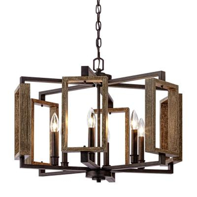 Newest Candle Style – Chandeliers – Lighting – The Home Depot Inside Aldora 4 Light Candle Style Chandeliers (View 21 of 30)