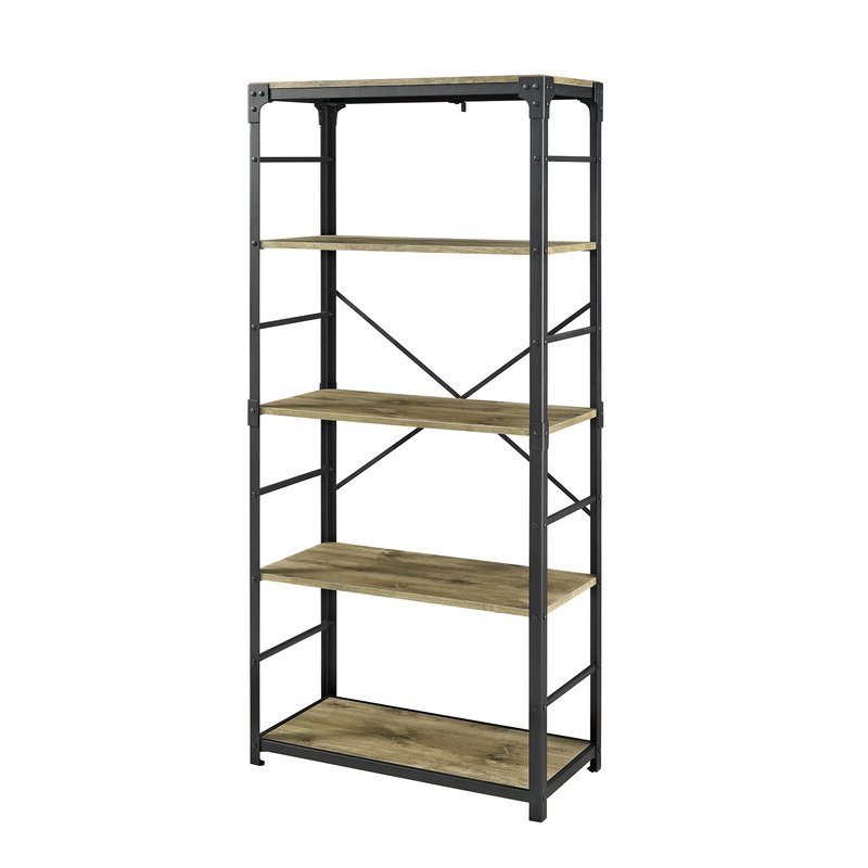 Newest Cecelia Etagere Bookcases In Cecelia Etagere Bookcase (Gallery 7 of 20)