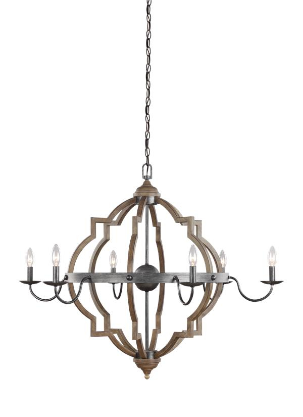 Newest Donna 6 Light Globe Chandeliers Intended For 3224906 846,six Light Chandelier,stardust (Gallery 11 of 30)