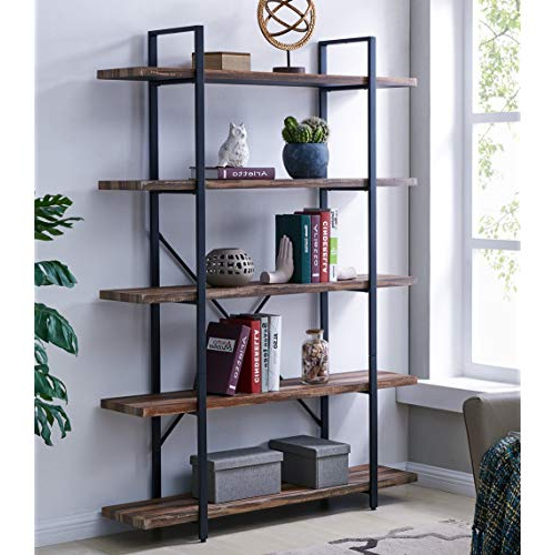 Newest Etagere Bookcase: Amazon For Gracelynn 5 Tier Etagere Bookcases (Gallery 13 of 20)