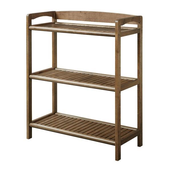 Newest Henn Etagere Bookcases Regarding Hales Solid Wood Etagere Bookcasebreakwater Bay (Gallery 6 of 20)