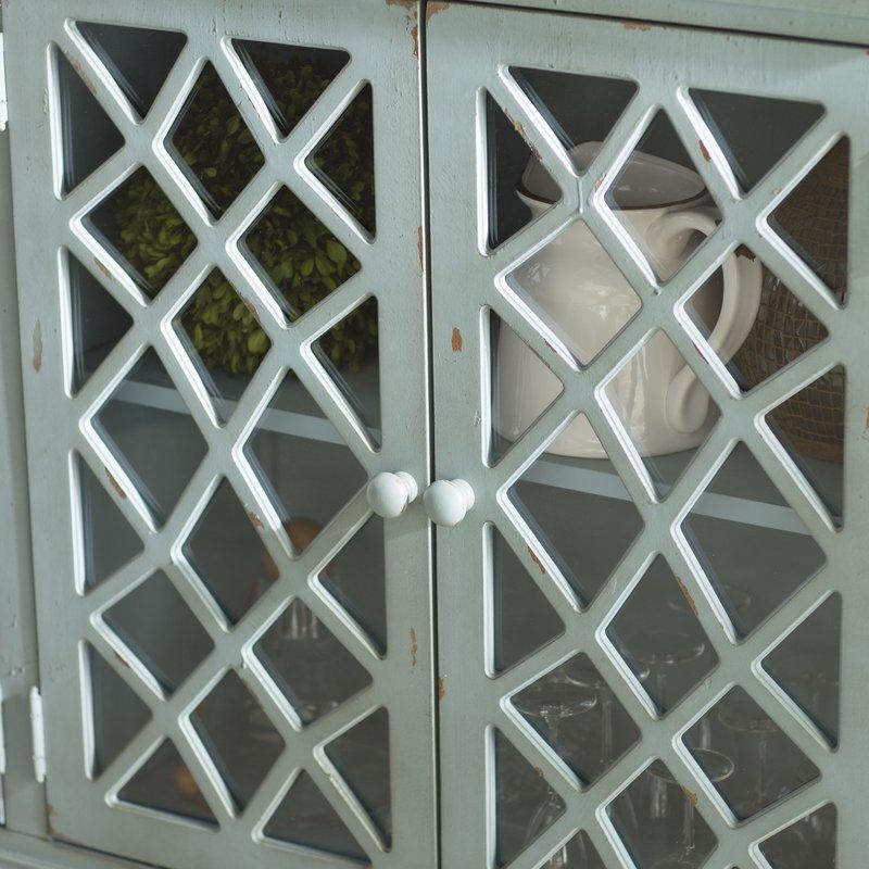 Newest Kara 4 Door Accent Cabinet With Kara 4 Door Accent Cabinets (View 4 of 20)