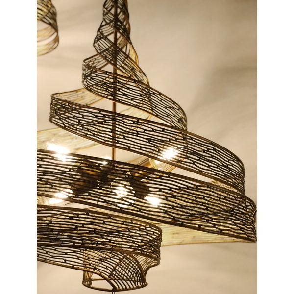 Newest Ladonna 5 Light Novelty Chandeliers Regarding Zelaya 6 Light Novelty Chandelier (View 11 of 30)